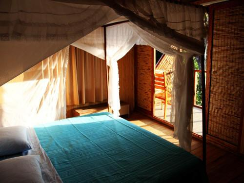AMAZONEGEBIED BRAZILIË: Comfortable rooms at the Cuyabeno Lodge.