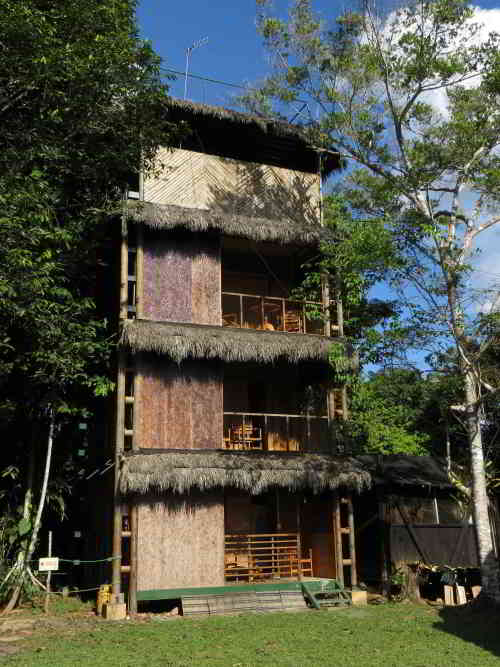 Canapy Tower at the Rainforest Lodge, Ecuador