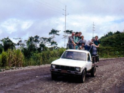 Cuyabeno Nature Reserve: Adventurous ride on the first ecotour to Cuyabeno in 1986.
