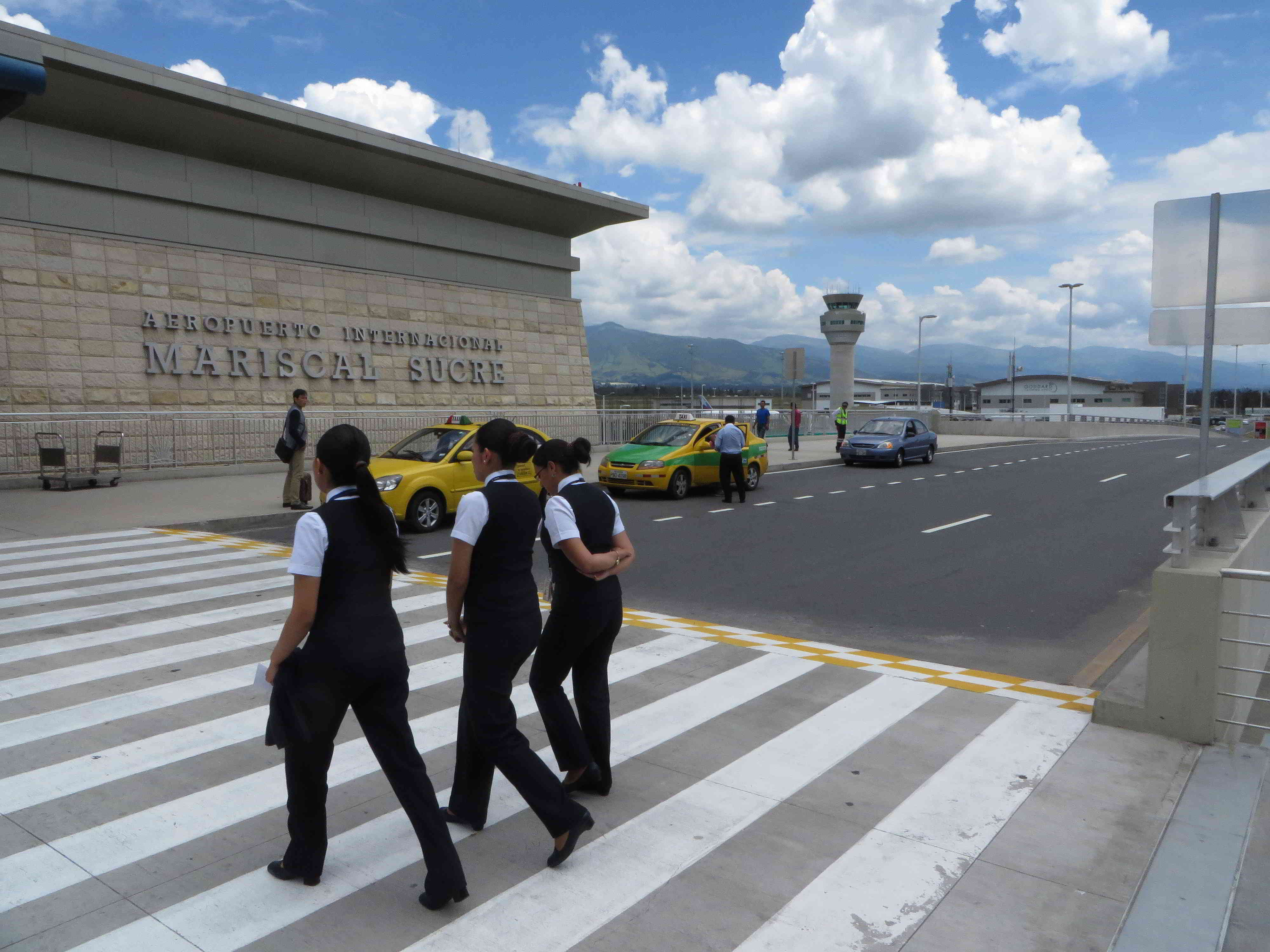 New Mariscal Sucre International Airport Quito Ecuador Uio