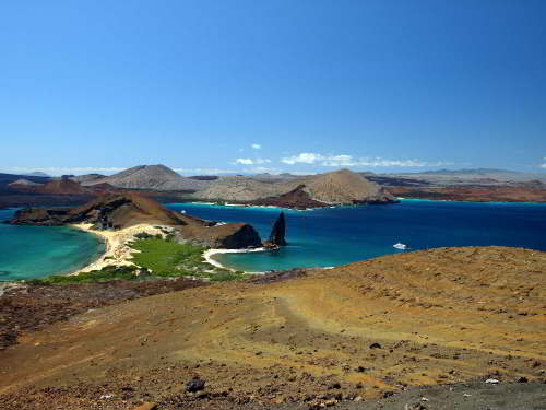 TOP 100 ECUADOR CULTURE FUN FACTS [INFORMATION]: Bartelome Island at Galapagos National Park