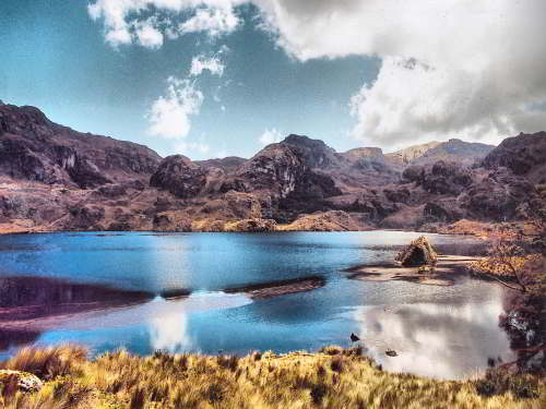 TOP 100 ECUADOR CULTURE FUN FACTS [INFORMATION]: Lake at Cajas National Park, Ecuador